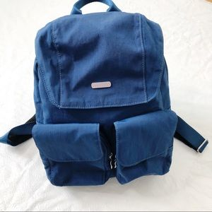 Baggallini Mission Backpack in Blue